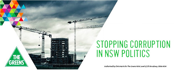 Stop Corruption In NSW Politics