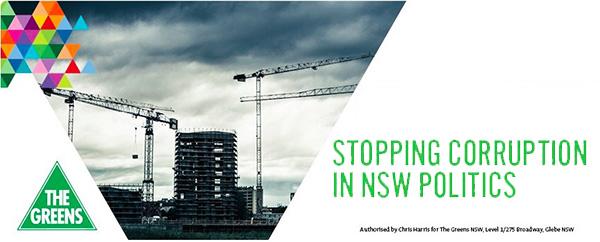 Stop Corruption In NSW Politics